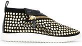 Giuseppe Zanotti Design 'Runner Rock' mid-top sneakers