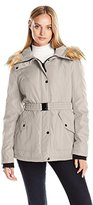 Jessica Simpson Women's Belted Active Puffer Coat