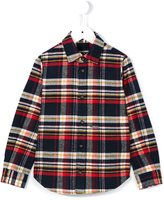 DSQUARED2 plaid shirt - kids - Cotton/Acrylic/Other fibres - 12 yrs