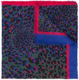 Marc Cain leopard print scarf