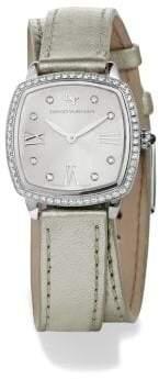 David Yurman Albion 27Mm Silver Metallic Swiss Quartz Watch