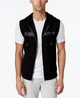 INC International Concepts Men's Fun Full-Zip Hoodie Vest, Only at Macy's