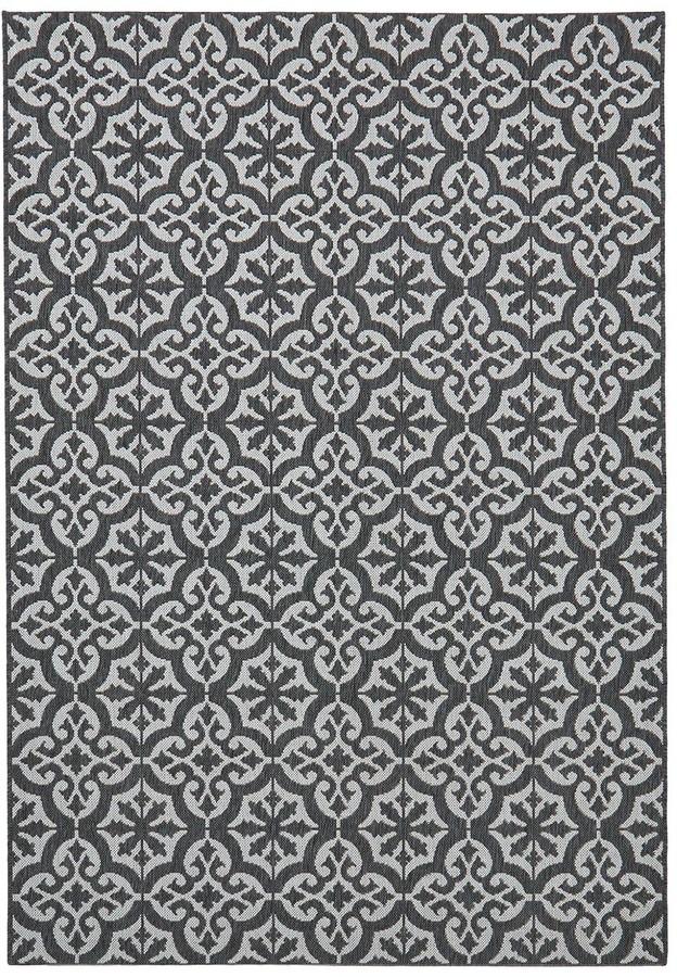 Very Victorian Tile Indoor/Outdoor Utility Rug