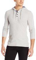 Buffalo David Bitton Men's Natract Long Sleeve Fashion Knit Shirt