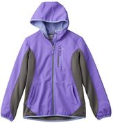 Free Country Girls 7-16 Embossed Dot Lightweight Soft Shell Jacket