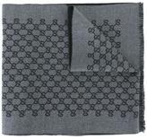 Gucci GG jacquard shawl - men - Wool - One Size