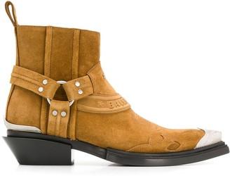 Balenciaga Santiag Harness boots