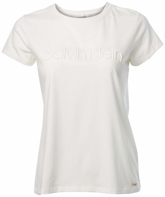 Calvin Klein Women's Short Sleeve Tee with Logo