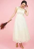 Chi Chi London Sparkling Celebration Midi Dress in Ivory in 2