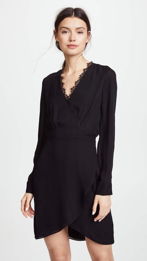 L'Agence Trino Wrap Dress