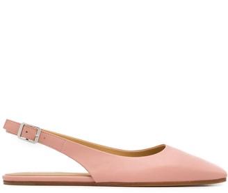 MM6 MAISON MARGIELA Square-Toe Slingback Sandals