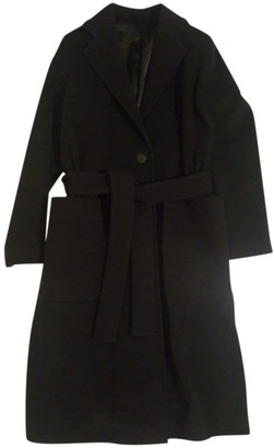 HUGO BOSS Blue Wool Coats