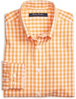 Brooks Brothers Boys' Non Iron Gingham Shirt