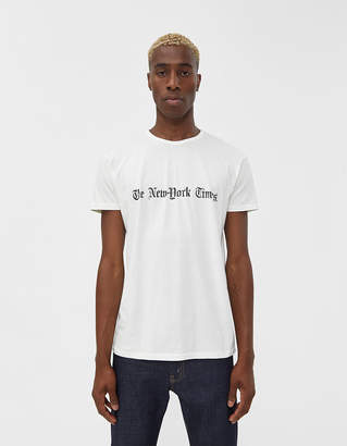 The New York Times S/S Throwback Logo Tee