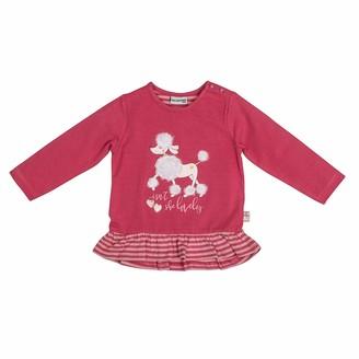 Salt&Pepper Salt and Pepper Baby Girls' Lovely Pudel Volant Pailletten Longsleeve T-Shirt