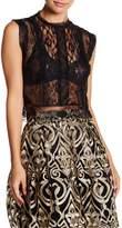 Romeo & Juliet Couture Lace Crop Blouse