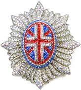Butler & Wilson Union Jack Military Brooch