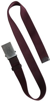 Prada Burgundy Cloth Belts