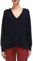Whistles Cashmere V-Neck Sweater