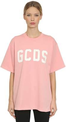 GCDS Logo Crewneck T-shirt