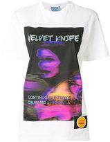 Prada Velvet Knife print T-shirt
