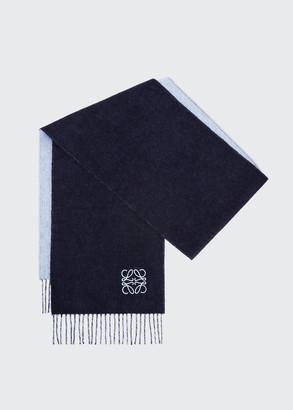 Loewe Bicolor Wool-Blend Scarf