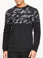 Puma Rebel Camo Sweatshirt