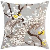DwellStudio Peacock Citrine Pillow Cover