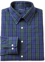 Croft & Barrow Men's Fitted Plaid Dress Shirt