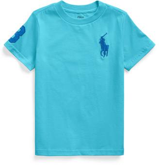 Ralph Lauren Kids Boy's Cotton Embroidered Short-Sleeve Shirt, Size 5-7
