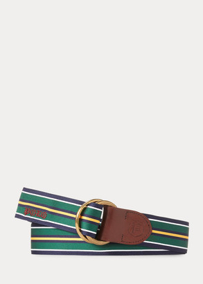 Ralph Lauren Grosgrain O-Ring Belt