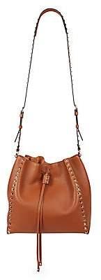 Valentino Women's Garavani Rockstud Leather Bucket Bag