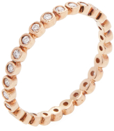 Ila Women's Addy 18K Rose Gold & 0.32 Total Ct. Diamond Eternity Band Ring