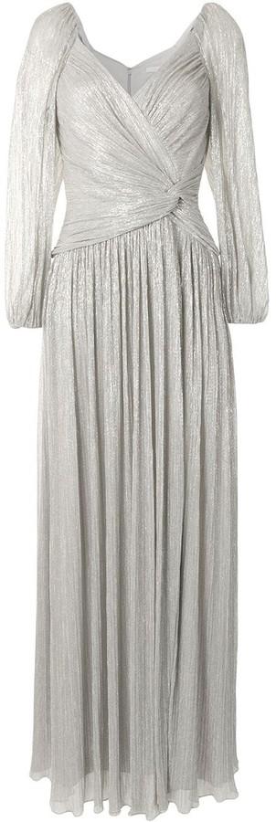 Jonathan Simkhai Long-Sleeve Maxi Dress