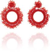 Casa Chiqui Chaquira Beaded Earrings
