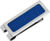 Cufflinks Inc. Men's Blue Carbon Fiber Inlaid Money Clip