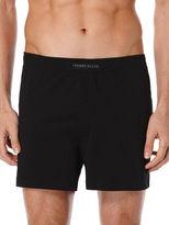 Perry Ellis Solid Knit Boxer Short