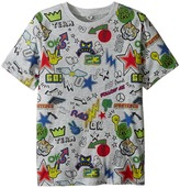 Stella McCartney Arrow Short Sleeve All Over Graphic Tee Boy's T Shirt
