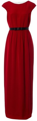 Jonathan Saunders Red Viscose Dresses