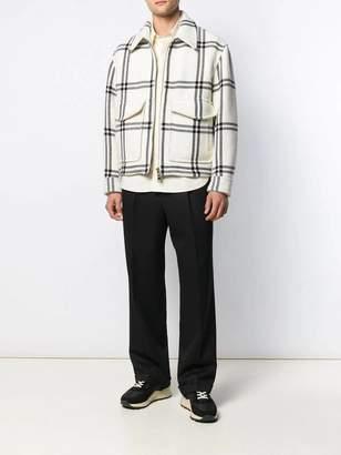 Ami Alexandre Mattiussi ivory classic button-down shirt