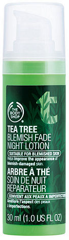 The Body Shop Tea Tree Blemish Fade Night Lotion 1.01 fl oz (30 ml)