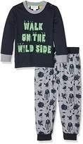Pumpkin Patch Boy's Relaxed Wild Side PJ Pyjama Sets,(Manufacturer Size:1-2yrs)