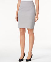 Calvin Klein Printed Pencil Skirt