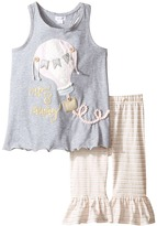 Mud Pie Air Balloon Tunic Leggings Set Girl's Active Sets