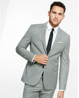 Express slim photographer houndstooth suit jacket
