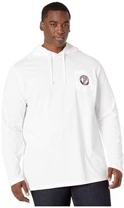 Polo Ralph Lauren Big & Tall Big Tall Long Sleeve T-Shirt (White) Men's T Shirt