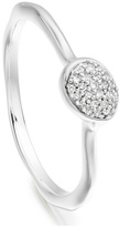 Monica Vinader Siren Diamond Small Stacking Ring
