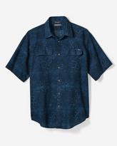 Eddie Bauer Men's Larrabee Short-Sleeve Shirt - Print