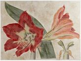 Pier 1 Imports Linen Red Lily Art