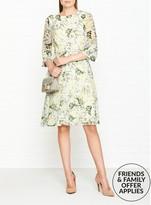 Hobbs Virginia Botanical Print Dress